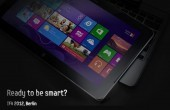 Samsung Windows 8 Tablet mit Tastatur Dock auf der IFA