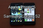 Apple iPhone 5 vs Samsung Galaxy S2