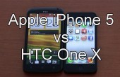 Apple iPhone 5 vs HTC One X