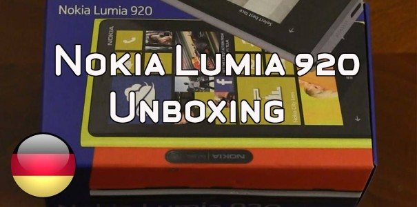 Nokia Lumia 920 Test – Unboxing, Vergleichstest und Walk-Through [Video]