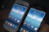 Samsung Galaxy S3 mini: Pebble Blue vs Marble White