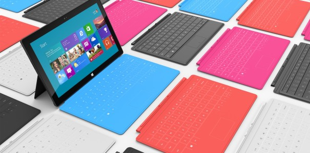 Microsoft Surface Tablet Preis steht fest: 499 Dollar mit Windows RT, 599 Dollar mit Touch Cover