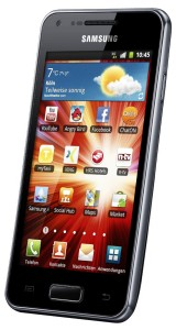 Aldi-Smartphone Samsung Galaxy S Advance GT-I9070 im November 2012 (Jelly Bean Update)