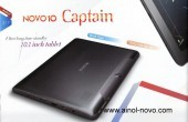 Ainol Novo 10 Captain: Jelly Bean Tablet mit Quad Core und Full HD Display für 216 Dollar