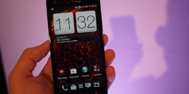HTC Droid DNA im Hands on