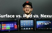 Videovergleich: Apple iPad vs. Google Nexus 10 vs. Microsoft Surface RT