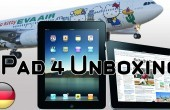 Apple iPad 4: Unboxing im Hello Kitty Flugzeug