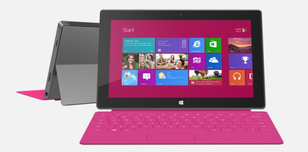 Microsoft Stores: Surface Pro Tablet mit Intel-CPU & Windows 8 Pro kommt Ende Januar