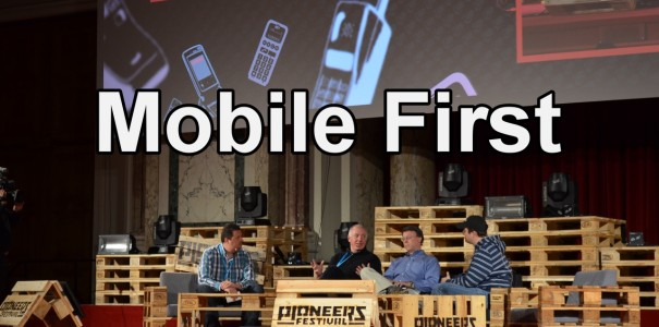 Paneldiskussion: Mobile First – World Domination Second – Pioneers Festival 2012