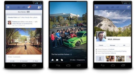 Facebook for Android 2.0 bald bei Google Play *Update: erschienen, läuft deutlich schneller*
