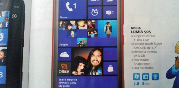 Nokia Lumia 505 mit Windows Phone 7.8 kommt in Kürze