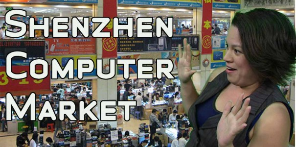 Shenzhen Computer Market Walkthrough – Huaqiangbei