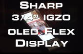 CES 2013: OLED Flexible Display von Sharp