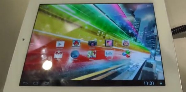 CES 2013: Archos 80 Platinum Tablet im Kurztest