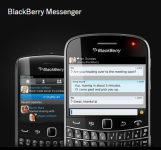 BlackBerry BBM und Balance im offiziellen Walkthrough