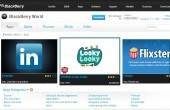 RIM: BlackBerry World App Store geht online