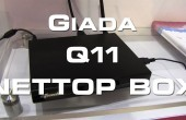 CES 2013: Giada Q11 AllWinner A10 Nettop Box Hands on Video