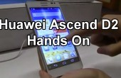 CES 2013: Huawei Ascend D2 – 5 Zoll Smartphone im Hands-on *Update: deutscher Clip*