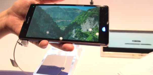 CES 2013: Sony Xperia Z (Yuga) im Hands On Video