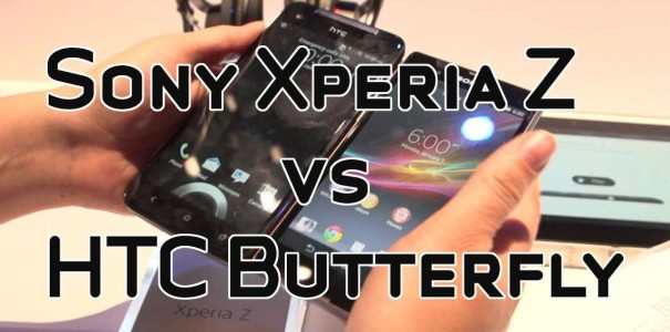 CES 2013: Sony Xperia Z vs. HTC Butterfly *Update