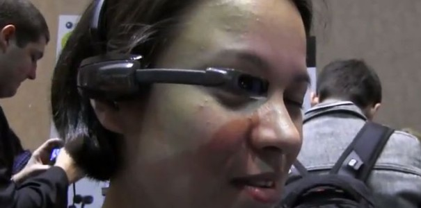 CES 2013: Vuzix Smart Glasses M100 – Cyber-Brille mit Android im Hands-on