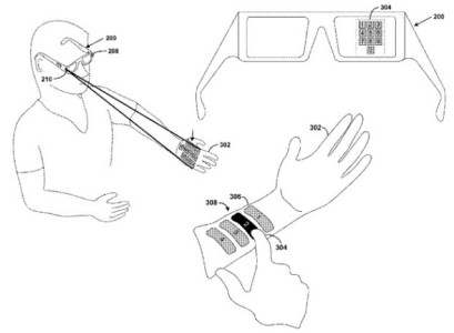 Google Glass: Bedienung per Laser-Keyboard