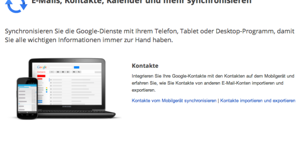 Windows Phone: Google verlängert ActiveSync Support, Microsoft bringt CalDAV/CardDAV