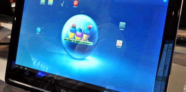CES 2013: ViewSonic zeigt 24inch Touch-Display mit Android 4.1 & Tegra 3 Quad-Core