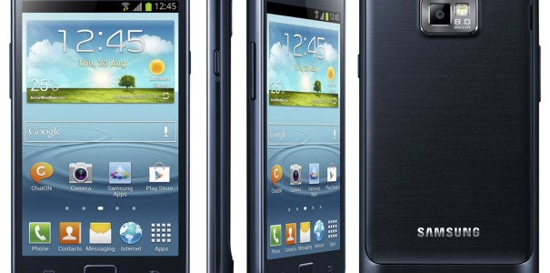 CeBIT: Samsung Galaxy S2 Plus im Hands-on