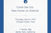 Facebook-Event am 4. April: Android-Update oder Facebook-Phone?