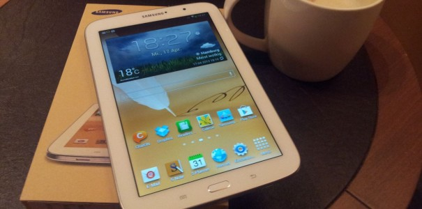 Kameravergleich Samsung Galaxy Note 8.0 vs. Apple iPad mini