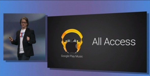 Google Play Music All Access kommt fuer iOS User