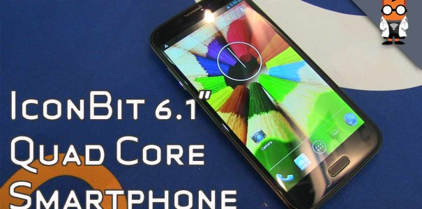 IconBit NetTab Mecury – 6.1-inch Quadcore Phablet im Hands On