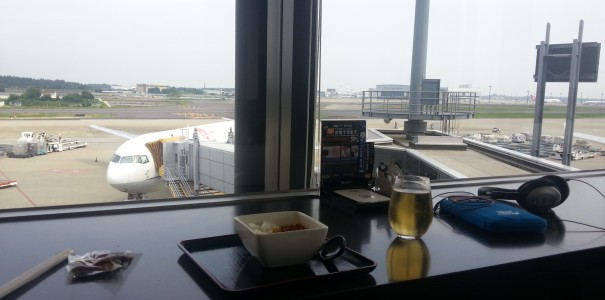 Mobile Geeks on Tour – ANA Lounge in Narita, Tokio!