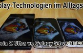 Display-Technologien im Alltagstest – AMOLED vs LCD 3 vs Triluminos