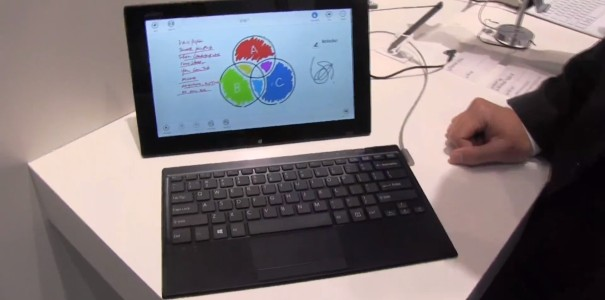 IFA: Sony VAIO Tap 11 Windows 8 Tablet mit magnetischem Keyboard Cover Hands On (Update: Deutsches Video)