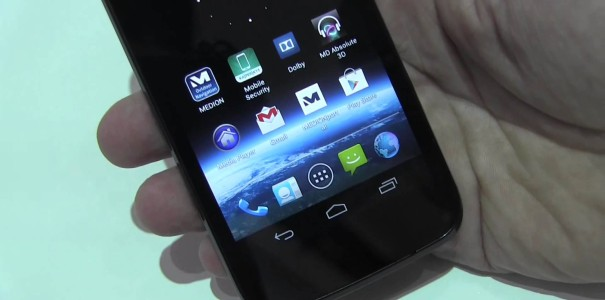 IFA: Medion X4701 Smartphone mit 4.7-inch HD-Display und Tegra 3 im Hands-on
