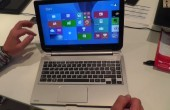 IFA: Toshiba Satellite Click 2-in1 Notebook mit AMD-Prozessor im Hands-on