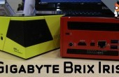 IDF: Gigabyte Brix Iris – Pocket Gaming PC mit Iris-Grafik im Hands-on