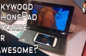 Skywood PhonePad: Tablet Dock für iPhone und Galaxy S-Smartphones im Hands-on-Video