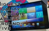 ifive Mini3 und F313 Tablets mit Rockchip-Quad-Core im Hands-on-Video