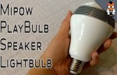Mipow Playbulb: LED-Glühlampe mit Speaker im Hands-on-Video