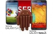 Samsung Galaxy S4 & Note 3 Android 4.4 Update Anfang Februar