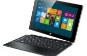 "Haier 1048W Lynx: Windows 8.1-Tablet mit Intel ""Bay Trail"" Quadcore & Tastatur-Cover"