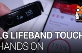 CES 2014: LG Lifeband Touch – vielseitiges Armband im Hands-on