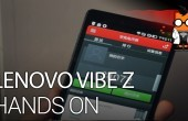 CES 2014 – Lenovo Vibe Z Hands On – 5.5-inch & Snapdragon 800