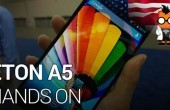 CES 2014: Eton A5 Octa-Core-Smartphone im Hands-on