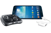 Samsung Galaxy Tab 3 8.0 Game Edition mit Gamepad und HDMI-Adapter