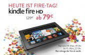 Fire-Tag bei Amazon:  7-inch Kindle Fire HD für 79 Euro, 8.9-inch Fire HD für 199 Euro
