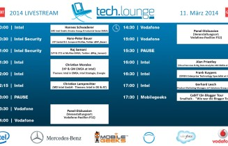 CeBIT 2014 Techlounge Livestream ab 10 Uhr – 2. Tag